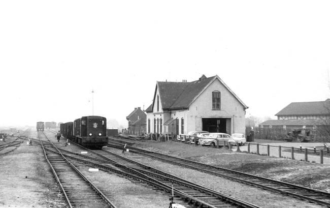 oude personen trein jaren 1900